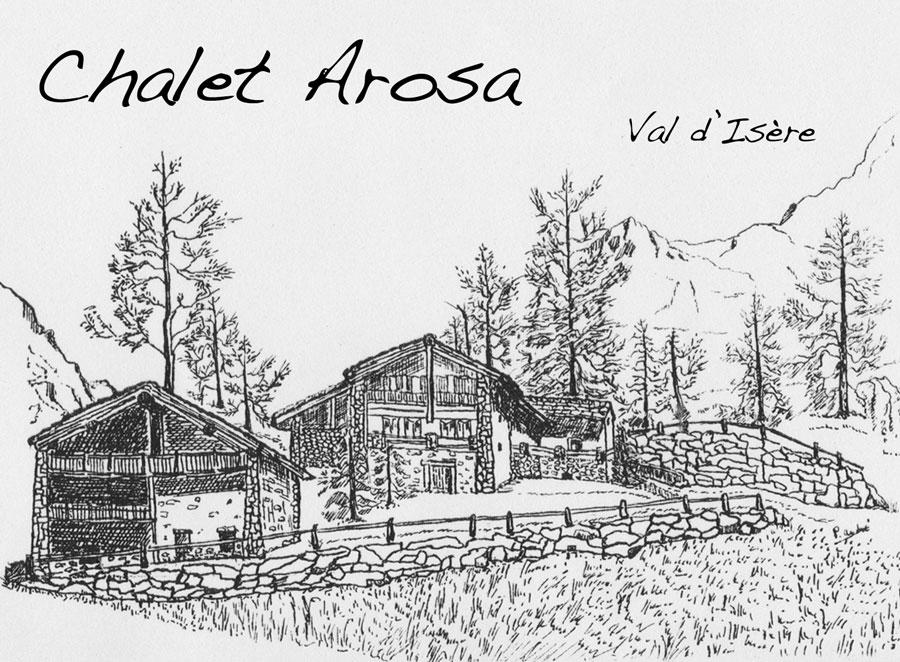 Le Chalet Arosa, location de chalet en été à Val d'Isère, Savoie
