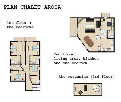Description of Chalet Arosa, summer chalet rental in Val d'Isere